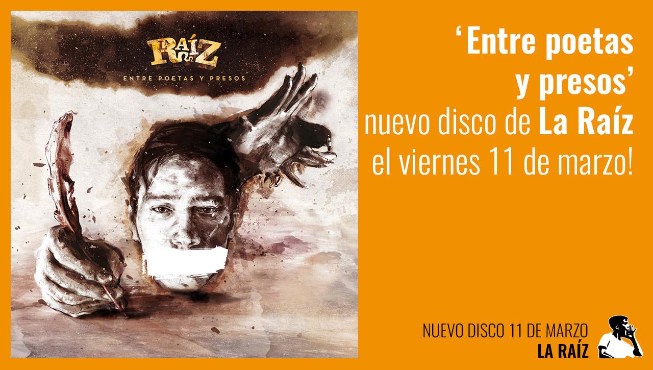 f51690d1 El esperadísimo nuevo álbum de los valencianos La Raíz estará disponible en  las mejores tiendas y en digital el próximo miércoles 11 de Marzo!